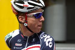 01.07.2012, Luettich, BEL, Tour de France, 1. Etappe Luettich-Seraing, im Bild SIEBERG Marcel (LOTTO - Belisol Team) Portrait // during the Tour de France, Stage 1, Liege-Seraing, Belgium on 2012/07/01. EXPA Pictures © 2012, PhotoCredit: EXPA/ Eibner/ Ben Majerus..***** ATTENTION - OUT OF GER *****