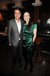 JAMIE CARING and KATIE MEGAN at 'Heavenly Ivy' a play to commemorate 20 years of The Ivy Restaurant, held at The Ivy, West Street, London on 8th November 2010.