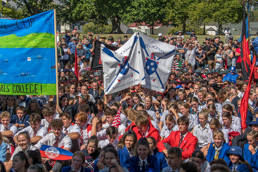 Maadi Cup opening parade and ceremony , Cambridge, Waikato,  Sunday 24 March 2019.<br /> <br /> © Copyright photo Steve McArthur / @RowingCelebration   www.rowingcelebration.com