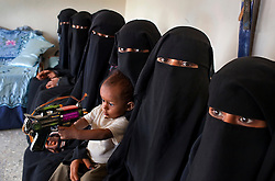 A group of young brides outside of Al Hudaydah, Yemen, Jan. 29, 2010. All of the girls were married between the ages of 14 and 16. Most had never attended school. Yemen's women's rights groups agree that child marriage is rampant in every part of Yemeni society.