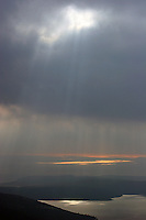 Utsikt over øya Losinj, view over the island Losinj