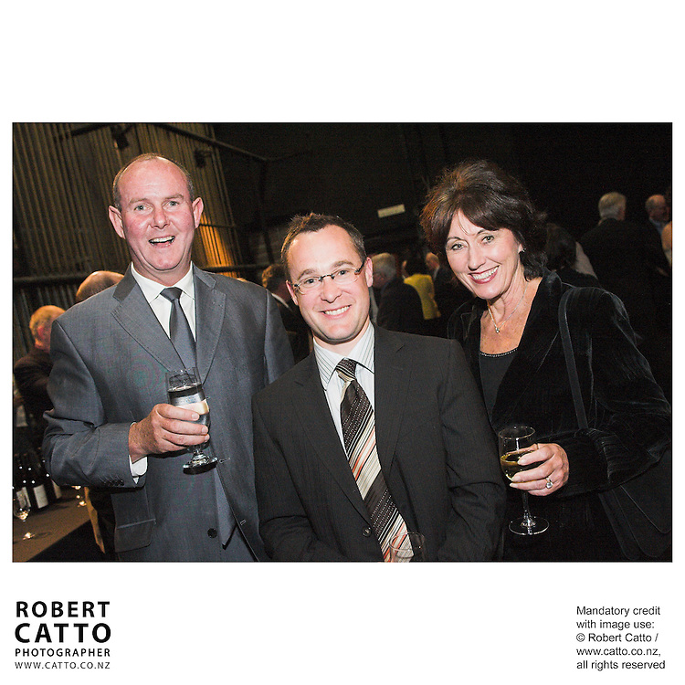 Simon Bowden at the Arts Foundation of New Zealand New Generation Awards at the St James Theatre, Wellington, New Zealand.<br />