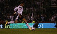Photo: Steve Bond.<br />Derby County v Southampton. Coca Cola Championship. Play Off Semi Final, 2nd Leg. 15/05/2007.  Giles Barnes steps up to score from the penalty spot in the torrential rain