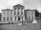 1961-09/06 Sheepshearing at Charleville House