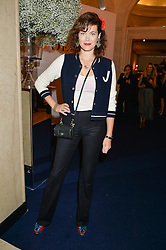 JASMINE GUINNESS at the De Beers Moments in Light - a celebration of telented women in association with Women For Women International featuring photographs by Mary McCartney held at Claridge's, Brook Street, London on 18th September 2015.
