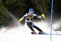 RAICH Benjamin of Austria competes during Men's Slalom - Pokal Vitranc 2014 of FIS Alpine Ski World Cup 2013/2014, on March 9, 2014 in Vitranc, Kranjska Gora, Slovenia. Photo by Matic Klansek Velej / Sportida