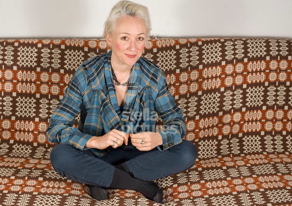 Picture by Daniel Hambury..6/1/10..Psychotherapist and 'love' author Anouchka Grose picture in her south east London home.