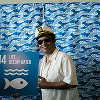 Tommy Remengesau, President of Palau at the reception to mark the end of The Ocean Conference at the UN in New York on June 09, 2017.