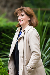 Downing Street, London June 2nd 2015. Education Secretary Nicky Morgan arrives at 10 Downing Street to attend the weekly Cabinet Meeting.