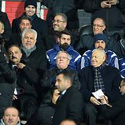 Turkish soccer club Fenerbahce's president Aziz Yildirim during their Turkish superleague soccer match Gaziantepspor between Fenerbahce at the Kamil Ocak stadium in Gaziantep Turkey on Saturday 14 February 2015. Photo by TURKPIX