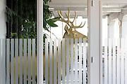 golden deer  object inside office space