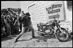 Bike Bash at the Iron Horse on Main, Daytona Beach, FL. 1984<br /> <br /> Limited Edition Print from an edition of 20. Photo ©1984 Michael Lichter.