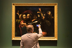 The Scottish National Gallery in Edinburgh will host an exhibition of the bad boy of seventeenth-century Italian art Michelangelo Merisi da Caravaggio. The exhibition which runs from 17 June - 24 September 2017 at The Mound features four works by the 'Od Master' that are being in Scotland for the first time.<br /> <br /> The exhibition explores the impact of his work across Europe, both during his lifetime and in the decades following his premature death.<br /> <br /> Pictured: The Taking of Christ, 1602