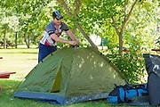 In camp, Biggar