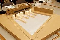 19.01.1999, Deutschland/Bonn:<br /> Modell Entwurf des Holocaust Mahnmal, Fraktionssaal, Bundeshaus, Bonn<br /> IMAGE: 19990119-04/01-37