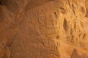 Graffiti left by visitors to the Agglestone Rock, Purbeck, Dorset, UK