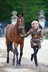 Klimke Ingrid, (GER), Horseware Hale Bob<br /> First Horse Inspection<br /> Mitsubishi Motors Badminton Horse Trials - Badminton 2015<br /> © Hippo Foto - Libby Law<br /> 06/05/15