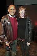 """October 20, 2012-New York, NY: (L-R)Actor/Social Activist Harry Belafonte and Jane Rosenthal, Co-founder, The Tribeca Film Institute at From Beat Street to These Streets: Hip Hop Then and Now panel discussion and special screening of """" Beat Street"""" co-hosted by the Schomburg Center, the Tribeca Youth Screening Series & Belafonte Enterprises and held at The Schomburg Center on October 20, 2012 in Harlem, New York City  (Terrence Jennings)"""