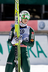 Jurij Tepes of Slovenia during Flying Hill Individual Final Round at 4th day of FIS Ski Jumping World Cup Finals Planica 2011, on March 20, 2011, Planica, Slovenia. (Photo By Matic Klansek Velej / Sportida.com)