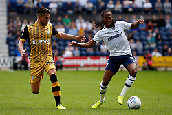 Daniel Johnson of Preston North End and Sam Hutchinson of Sheffield Wednesday - Mandatory by-line: Matt McNulty/JMP - 05/08/2017 - FOOTBALL - Deepdale - Preston, England - Preston North End v Sheffield Wednesday - Sky Bet Championship
