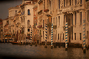 Toned photo of the Grand Canal, Venice, Italy
