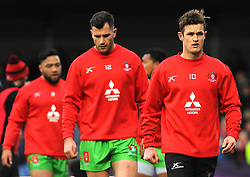 Billy Burns of Gloucester Rugby warms up- Mandatory by-line: Nizaam Jones/JMP- 16/12/2017 - RUGBY - Kingsholm - Gloucester, England - Gloucester Rugby v Zebre Rugby Club- European Rugby Challenge Cup