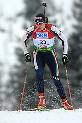Markus Windisch (ITA) at Men 20 km Individual at E.ON Ruhrgas IBU World Cup Biathlon in Hochfilzen (replacement Pokljuka), on December 18, 2008, in Hochfilzen, Austria. (Photo by Vid Ponikvar / Sportida)
