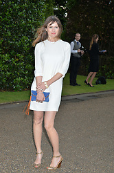 EMILY MORTIMER at The Ralph Lauren & Vogue Wimbledon Summer Cocktail Party at The Orangery, Kensington Palace, London on 22nd June 2015.  The event is to celebrate ten years of Ralph Lauren as official outfitter to the Championships, Wimbledon.