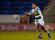 Newcastle Falcons Joel Matavesi during a Gallagher Premiership Round 12 Rugby Union match, Friday, Mar 05, 2021, in Eccles, United Kingdom. (Steve Flynn/Image of Sport)