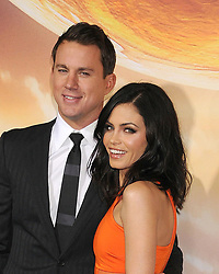 Feb. 2, 2015 - Los Angeles, California, USA - Feb 02, 2015 - Los Angeles, California, USA - Actor TATUM CHANNING, Actress JENNA DEWAN at the 'Jupiter Ascending' Hollywood Premiere held at the TCL Chinese Theater, Hollywood. (Credit Image: © Paul Fenton/ZUMA Wire)