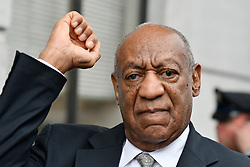 Bill Cosby reacts after judge Steven O'Neill declares a mistrial in the aggravated indecent assault trail of entertainer Bill Cosby, at Montgomery County Courthouse, in Norristown, Pennsylvania, on June 17, 2017.