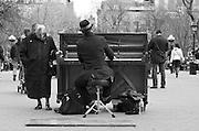 Union Square Park Piano Man