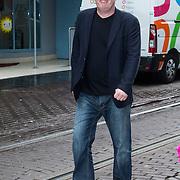 NLD/Amsterdam/20140405 - Filmpremiere Pim & Pom, Thomas Acda, partner Esmee Wekker en kinderen Joan en Lucy