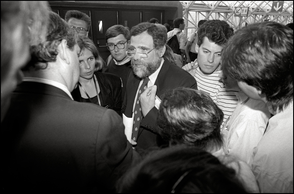 Stephen Joseph, the then Commissioner of Health of the City of New York, attended the Fifth International AIDS Conference in Montreal in June 1989.