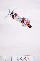 February 12, 2018 - Pyeongchang, SOUTH KOREA - 180212 Marc-Antoine Gagnon of Canada competes in the men's moguls final during day three of the 2018 Winter Olympics on February 12, 2018 in Pyeongchang..Photo: Carl Sandin / BILDBYRÃ…N / kod CS / 57999_286 (Credit Image: © Carl Sandin/Bildbyran via ZUMA Press)