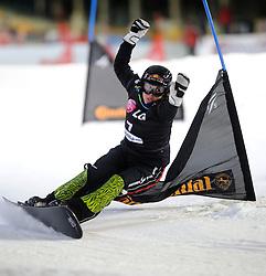 10-10-2010 SNOWBOARDEN: LG FIS WORLDCUP: LANDGRAAF<br /> First World Cup parallel slalom of the season / MESCHIK Ina AUT<br /> ©2010-WWW.FOTOHOOGENDOORN.NL