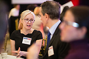 Emily Soverel of Chronicle Security networks during the Bay Area Corporate Counsel Awards at The Westin San Francisco Airport in Millbrae, California, on March 18, 2019. (Stan Olszewski for Silicon Valley Business Journal)