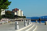 Waterfront (Riva) promenade, Zadar, Croatia
