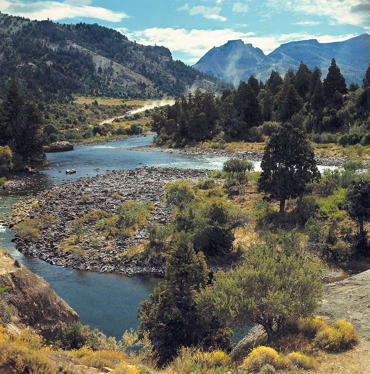 A peaceful view of Valle Encanto, in Nahuel Huapi National Park, Argentina.
