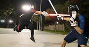 A Lightspeed Saber League tournament in Buena Park, California.