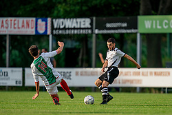 Zaid in action. Friendly match against EDO and Maarssen lost the home match with 3-0 on 20 August 2020 in Maarssen.