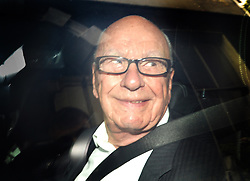 Image ©Licensed to i-Images Picture Agency. 26/06/2014. <br /> <br /> Rupert Murdoch leaves his home in central London, UK.<br /> <br /> Picture by Ben Stevens / i-Images