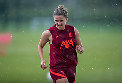 WALLASEY, ENGLAND - Wednesday, July 28, 2021: Liverpool's Leanne Kiernan during a training session at The Campus as the team prepare for the start of the new 2021/22 season. (Pic by David Rawcliffe/Propaganda)