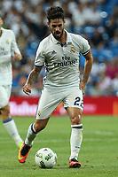 Real Madrid's Isco Alarcon during the XXXVII Bernabeu trophy between Real Madrid and Stade de Reims at the Santiago Bernabeu Stadium. August 15, 2016. (ALTERPHOTOS/Rodrigo Jimenez)