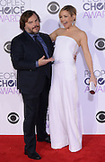 KATE HUDSON + JACK BLACK at  the People's Choice Awards 2016 held at the ©Exclusivepix Media