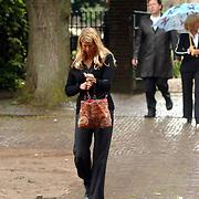Begrafenis Elly van der Berkt, Danielle Oonk