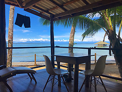 EXCLUSIVE: How about owning your own tropical Caribbean luxury resort for just $10. American couple Suzanne and Dave Smith are selling off their incredible Casa Cayuco Eco Adventure Lodge, in Bocas del Toro, Panama, Central America. But instead of listing their stunning multi-million-pound island getaway for sale they are offering the chance for anyone who buys a $10 ticket to win their extraordinary lifestyle and profitable business. Dave and Suzanne have spent five years turning a former rustic lodge into one that has just been voted number one resort on TripAdvisor in Panama. Their incredible two-acre slice of heaven is bordered by sloth-filled rainforest to the rear and crystal clear coral sea to the front. The lucky winner of the 24-guest resort will become owner of four stand-alone cabins, a main lodge, two lodge suites, and an air-conditioned luxury owner's suite designed by Dave and Suzanne themselves and built by skilled local carpenters. Outside, Casa Cayuco comes with its own jetty and thatch covered sun terrace as well as everything you need to run a business, including commercial kitchen communication tower, laundry and maintenance building and THREE power boats, each over 23-foot long. Kayaks, snorkelling, spear fishing and paddle boards and surf gear are also ready and waiting to be used by a new owner and guests alike. And if that's not enough, British competition organisers WinThis.Life https://winthis.life/index.aspx# are offering a $50,000 cash injection to welcome the new owners. All those wishing to take part have to do is buy one or more tickets and play a spot-the-ball-type competition on the website. Entries are being taken extension until April 11. Dave, 35, and Suzanne, 33, first arrived on the island in 2013 with just seven suitcases having decided to sell up from their home and corporate lives near Detroit, Michigan, USA. 16 Feb 2018 Pictured: Pic shows Caribbean resort Casa Cayuco in Panama which one lucky winner could own. Got the J