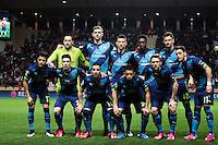 Equipe Arsenal - 17.03.2015 - Monaco / Arsenal - 1/8Finale Retour Champions League<br /> Photo : Jean Christophe Magnenet / Icon Sport