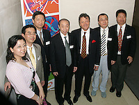 Fran Nevrkla (Chairman and CEO PPL), Mr Liu Guo Xiong, President of China Audio Video Association (CAVA) and his delegation.