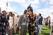 JOSH WELLER; PALOMA FAITH, Cartier International Polo. Guards Polo Club. Windsor Great Park. 25 July 2010. -DO NOT ARCHIVE-© Copyright Photograph by Dafydd Jones. 248 Clapham Rd. London SW9 0PZ. Tel 0207 820 0771. www.dafjones.com.